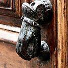 Door knocker Calella 2005 by patjila