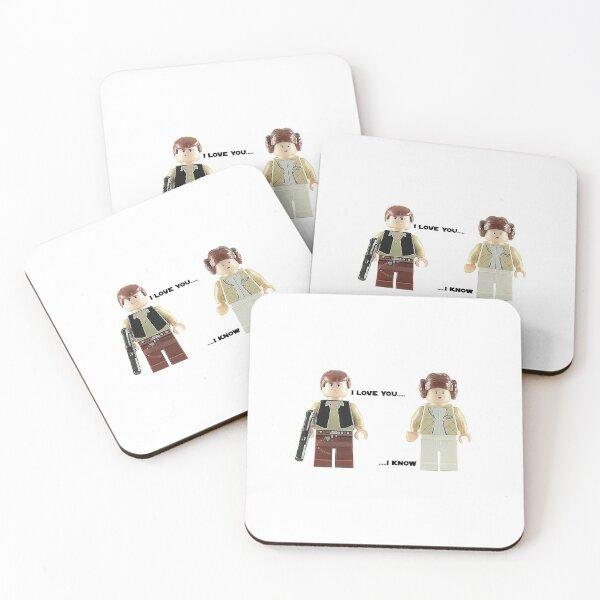 I love you - I know Coasters (Set of 4)