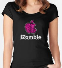 Apple iZombie -pink- Women's Fitted Scoop T-Shirt