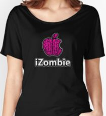Apple iZombie -pink- Women's Relaxed Fit T-Shirt