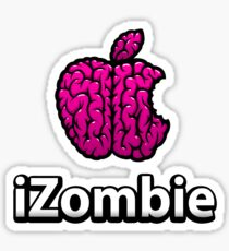 Apple iZombie -pink- Sticker