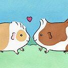 Guinea-pig Sweethearts #2 by Zoe Lathey