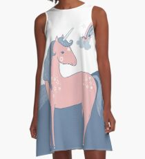 Unicorn Hills A-Line Dress