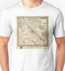 Plan of Warsaw - 1783 Unisex T-Shirt