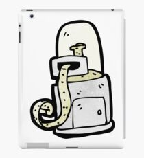 cartoon stock ticker machine iPad Case/Skin