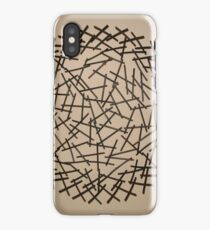 Confusing Angle Geek Fifties Twist iPhone Case
