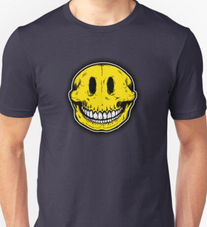 Smiley Skull Sketch T-Shirt