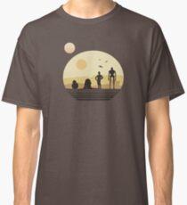 Star Wars Droids on Tatooine Classic T-Shirt