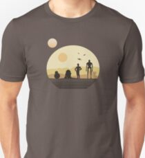 Star Wars Droids on Tatooine T-Shirt