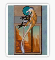 Velociraptor Nouveau Sticker