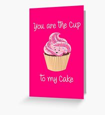 My Cupcake - Pink version Greeting Card