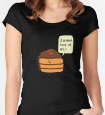 Trouble Caker! Women's Fitted Scoop T-Shirt