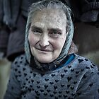Old farmer woman indoor by naturalis