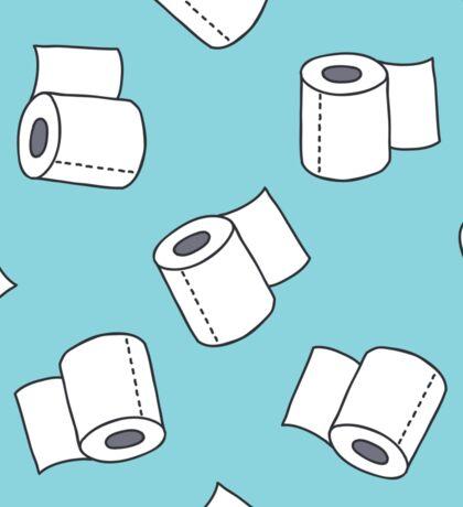 doodle pattern. toilet paper Sticker