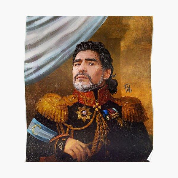 Diego Armando Maradona - El Rey Poster