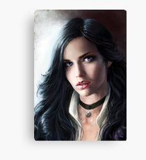 The Witcher - Yennefer Canvas Print