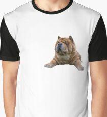 Chow Dog Portrait Graphic T-Shirt