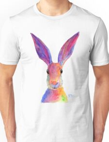 HAPPY HARE 'JELLY BEAN' BY SHIRLEY MACARTHUR Unisex T-Shirt