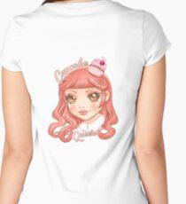 Cupcake Queen Women's Fitted Scoop T-Shirt