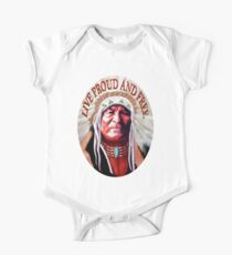 Indian Chief One Piece - Short Sleeve