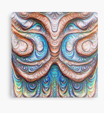 Frozen Monster mind #DeepDream #Art Metal Print