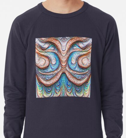Frozen Monster mind #DeepDream #Art Lightweight Sweatshirt