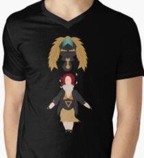 """Game Over""-Transistor Men's V-Neck T-Shirt"