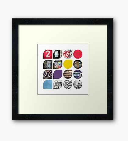 Cold Comfort Collage — The Streets Framed Print