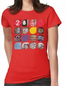Cold Comfort Collage — The Streets Womens Fitted T-Shirt