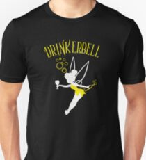 Drinkerbell yellow color T-Shirt
