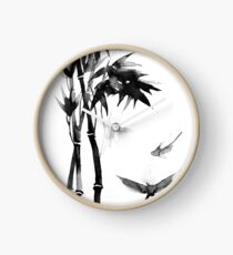 Japanese bamboo Clock