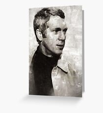 Steve McQueen, Actor Greeting Card