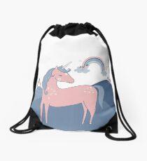 Unicorn Hills Drawstring Bag