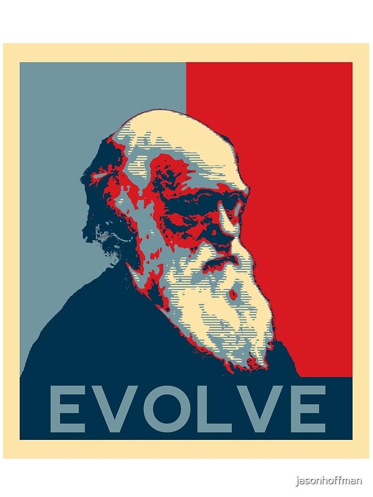 Charles Darwin Evolve Evolution by jasonhoffman