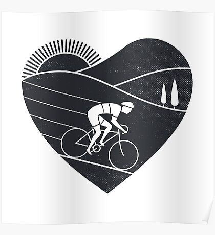 Love Cycling  Poster