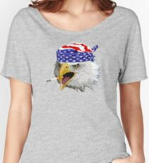 Crying eagle  Women's Relaxed Fit T-Shirt
