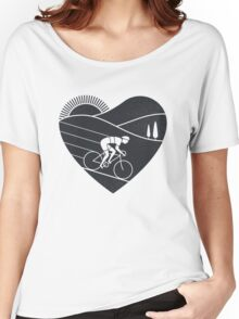 Love Cycling  T-shirt femme coupe relax