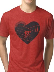 Love Cycling  Tri-blend T-Shirt