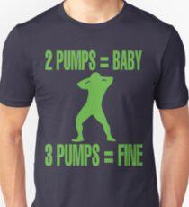 3 pumps gets you a fine T-Shirt