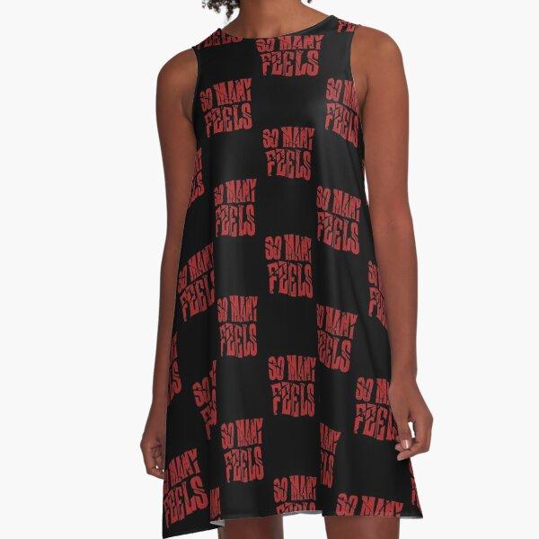 So Many Feels A-Linien Kleid