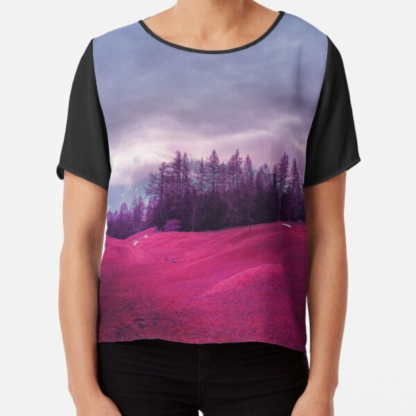 Lost in the Moment Chiffon Top