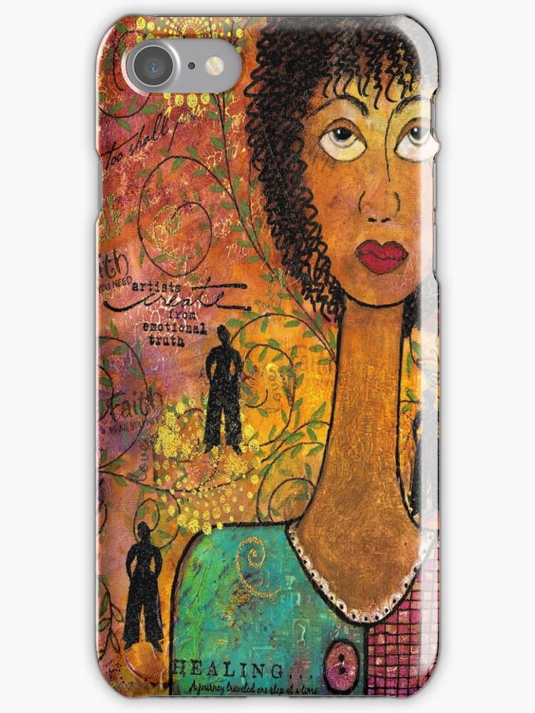 Emotional Truth - iPhone Case by © Angela L Walker
