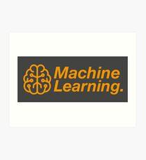 Machine Learning Art Print