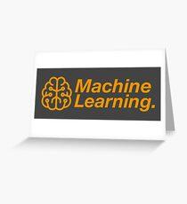 Machine Learning Greeting Card