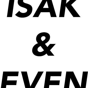 Isak&Even by whoviandrea