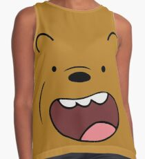 Grizzly Bears Face Contrast Tank