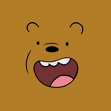 Grizzly Bears Face by Cool-Art