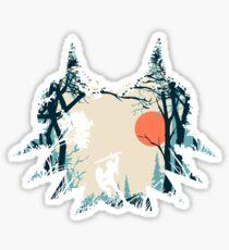 Waldverbindung Sticker