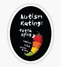 Spicy Autism Sticker
