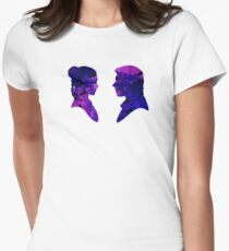 Han and Leia Water Colour T-Shirt